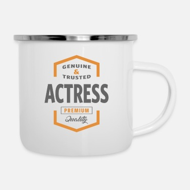 Actress Actress - Enamel Mug