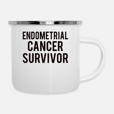 Endometrial Cancer Poison Endometrial Cancer: Endometrial Cancer Survivor - Enamel Mug