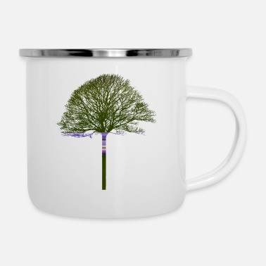 Texturas Magic tree - Enamel Mug