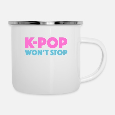Korea Pop Music K-pop Korea Korean Pop Music Gift - Enamel Mug