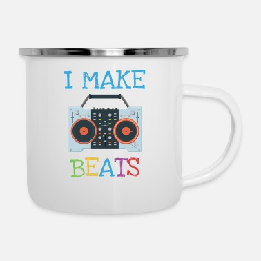 Grappige DJ Producer Beat Macher Gift Party - Emaille mok