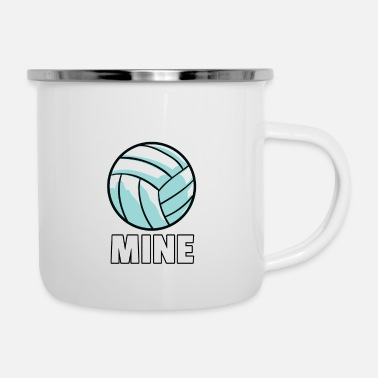 Volleyball Player Volleyball volleyball player volleyball player gift - Enamel Mug