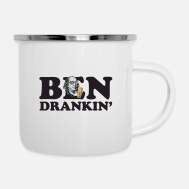 Drinkglas Ben dronk - Emaille mok