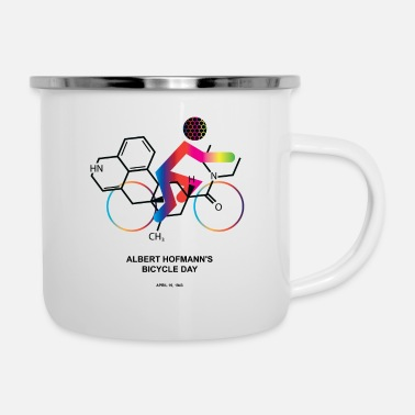 Albert Hofmann Albert Hofmann's Bicycle Day - Enamel Mug