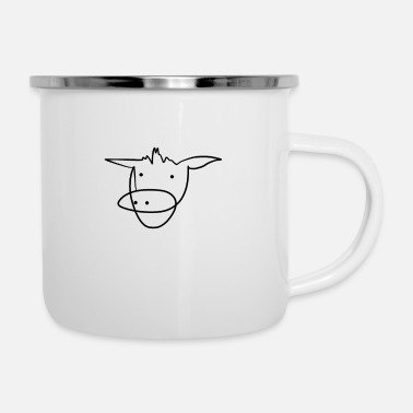 Kälbchen Happy cow - Enamel Mug