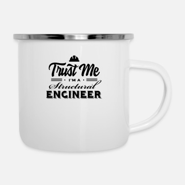 Structure Structural engineer team structural engineer structural engineer structural engineering - Enamel Mug