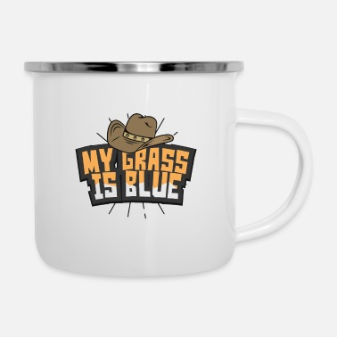 Bluegrass Country Musik Bluegrass - Emaille-Tasse