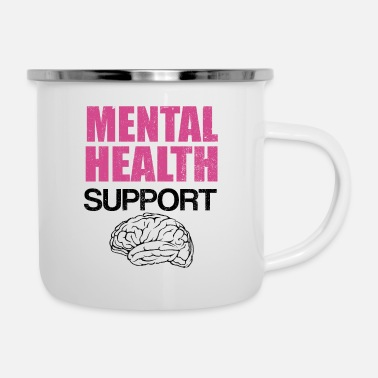 Health Mental Health Support Mental Health Awareness - Emaille mok