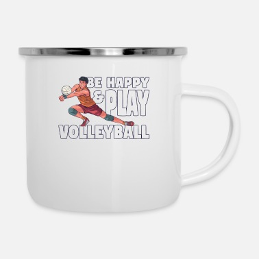 Volleyball Player Volleyball volleyball player - Enamel Mug
