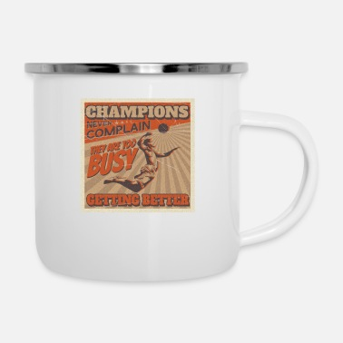 Volleyball Player Volleyball volleyball players - Enamel Mug