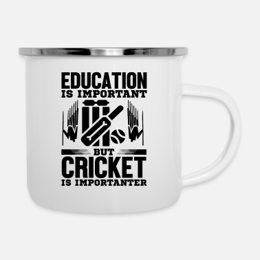 Education Culture Education is - Enamel Mug