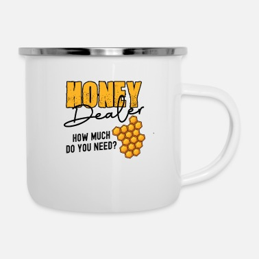 Biene Honey Dealer how much do you need? - Emaille-Tasse