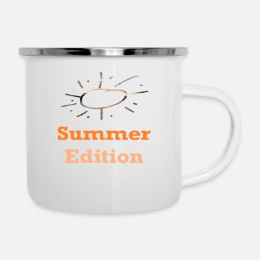 Age Summer Edition / Sayings / Trend - Enamel Mug