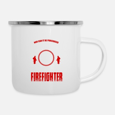 Firebrigade Firefighters firebrigade fire defense defender new ho - Enamel Mug