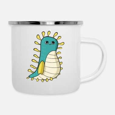 Slimy Slimy monster - Enamel Mug