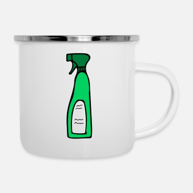 Clean What It Is Cleaning agent - motif - Enamel Mug