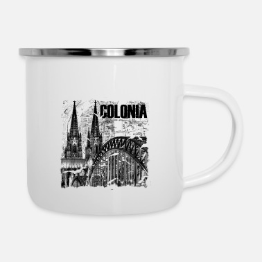 Colonia Colonia is love - Enamel Mug