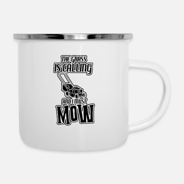 Mow mowing machine - Enamel Mug