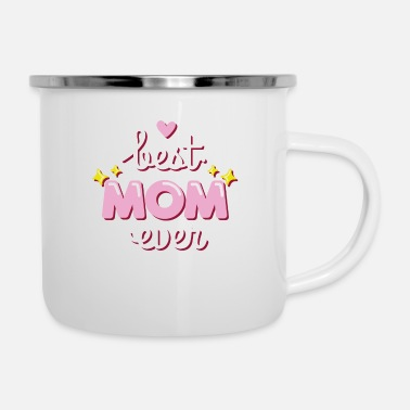 Mummie Mother's Day Gift Best Mom Mother's Day Gift - Enamel Mug