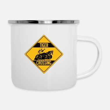Multistrada Tiger Explorer Crossing - Enamel Mug