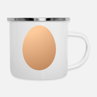 Egg World Record Egg Instagram Egg Egg Eggs - Enamel Mug
