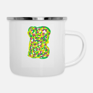 Graphic Art graphic art spring - Emaille-Tasse