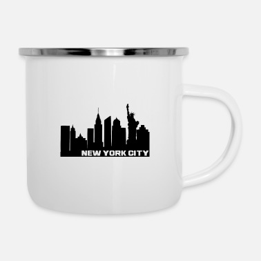 Little Italy NY City - Emaille-Tasse