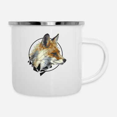 Graphic Art Graphic Fox - Emaille-Tasse