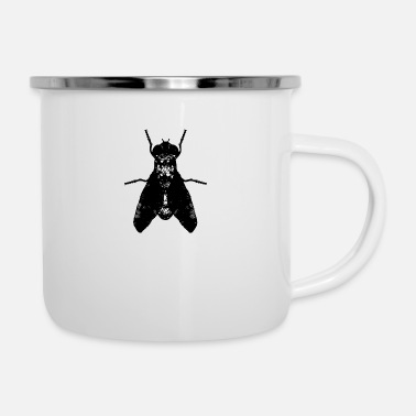 Fly-insect Insect insect fly artistic - Enamel Mug
