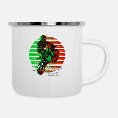 Surrey Motocross Ride or Die Artwork - Enamel Mug