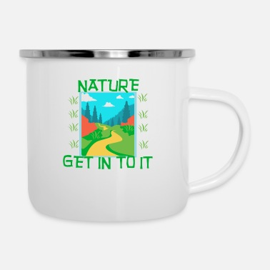 Nature NATURE - Get in to it - Enamel Mug