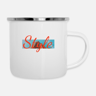 Style Style - Emaille-Tasse