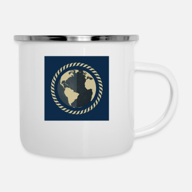 World The world / The world - Enamel Mug