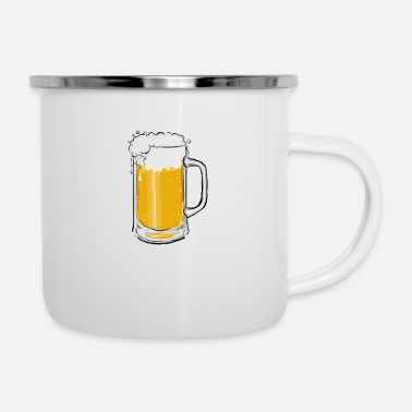 Pitcher Beer pitcher - Enamel Mug