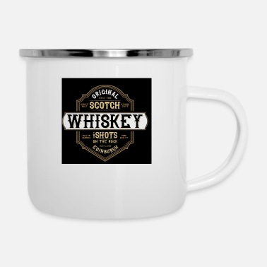Whiskey Whiskey - Emaille mok