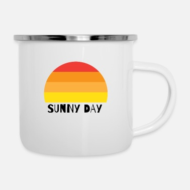 Sunny Day SUNNY DAY - Emaille-Tasse