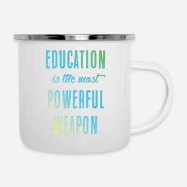 Education Culture Education || education - Enamel Mug