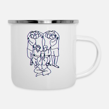 Korea Pop Music K-Pop Kpop Korea Pop music fan gift idea - Enamel Mug