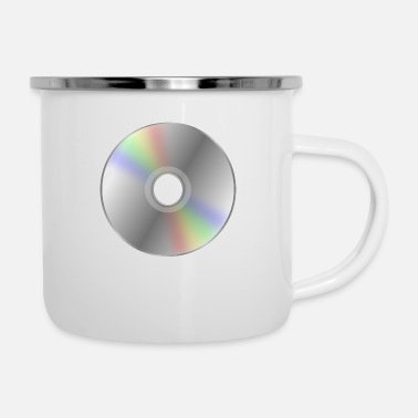 Dvd Retro DVD / CD Nostalgie - Emaille-Tasse