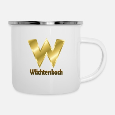 Deutsch Wächtersbach - Emaille-Tasse