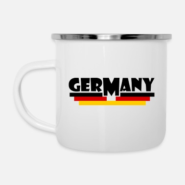 Flag Of Germany Germany flag - Germany flag - Enamel Mug