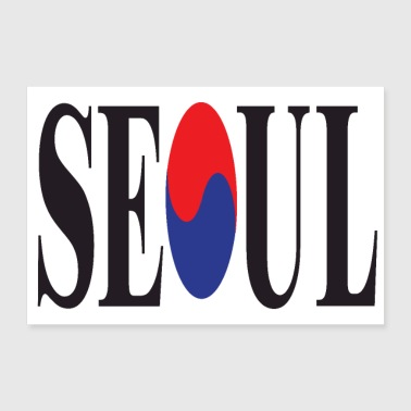 SEOUL 3 2 UK 01 - Juliste 90x60 cm