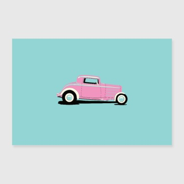 HOT ROD Poster - Poster 90x60 cm