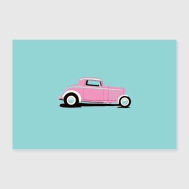 Poster HOT ROD - Poster 90x60 cm