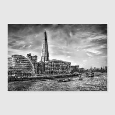 The Shard Building London - Poster 90x60 cm