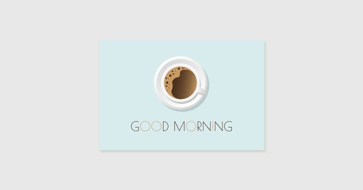 Good Morning Baby Japanese Version : Good morning poster von lea designs spreadshirt