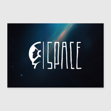 Space Astronaut Poster - Poster 90x60 cm