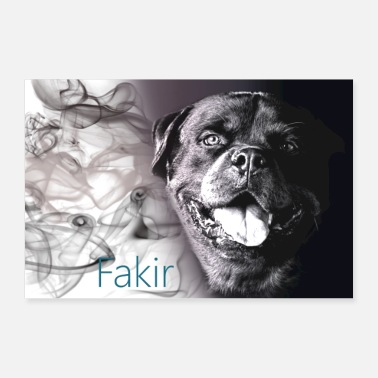 Association FAKIR - Poster 36 x 24 (90x60 cm)