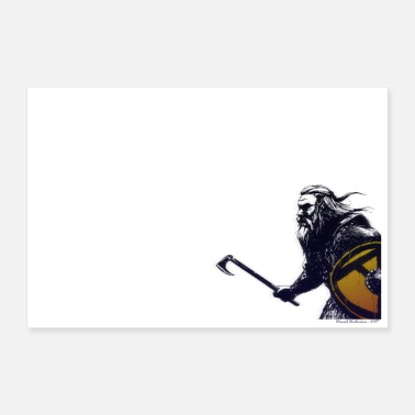 Viking Warrior - Poster 90x60 cm