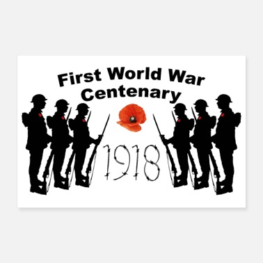 1918 First World War Centenary - Poster